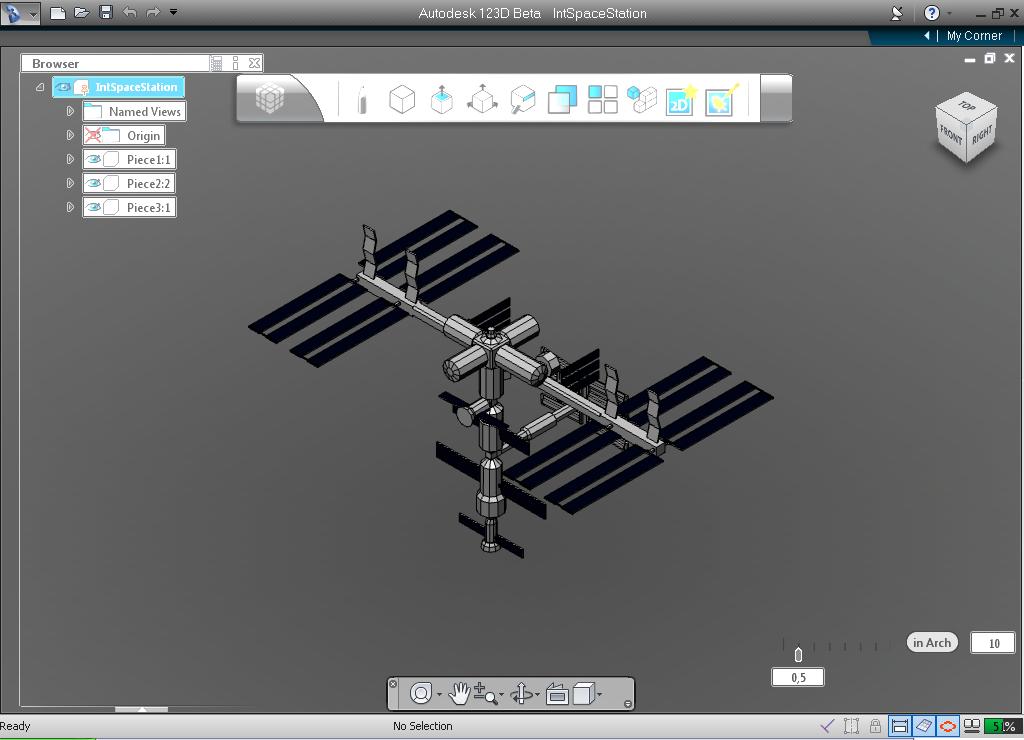 123D Design screenshot. 123D Design for Windows   Free Download   Zwodnik