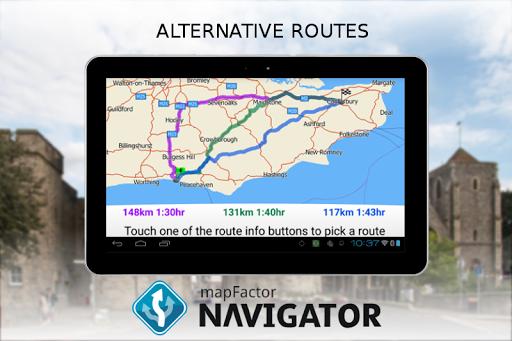 MapFactor Navigator for Android - Free Download - Zwodnik