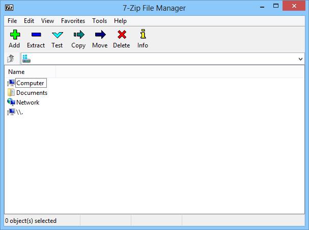 7-Zip for Windows - Free Download - Zwodnik