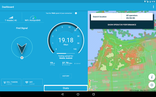 Open Signal Maps for Android - Free Download - Zwodnik