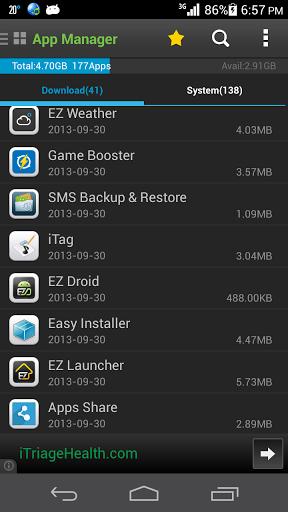application app2sd