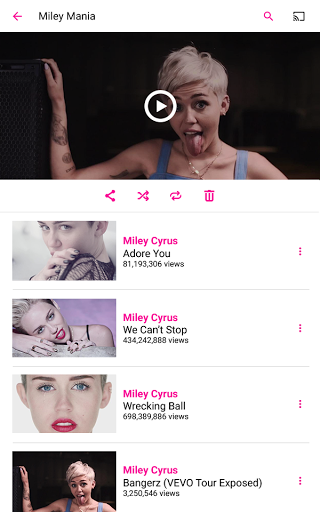 VEVO for Android - Free Download - Zwodnik