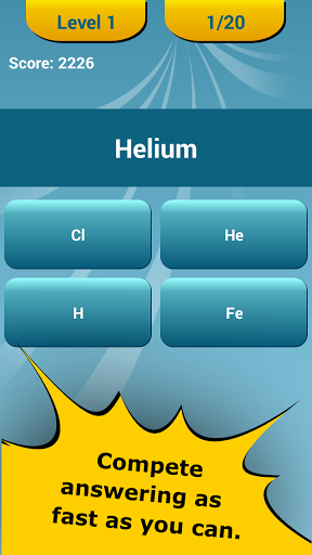 Periodic table quiz for android free download zwodnik periodic table quiz screenshot urtaz Choice Image