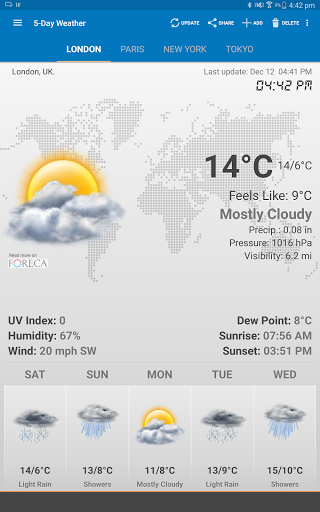 Weather & Clock Widget for Android - Free Download - Zwodnik