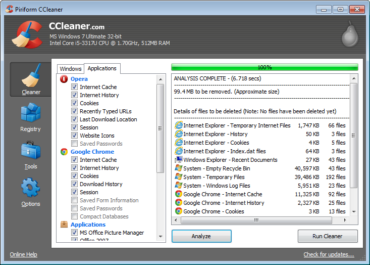 free ccleaner for windows