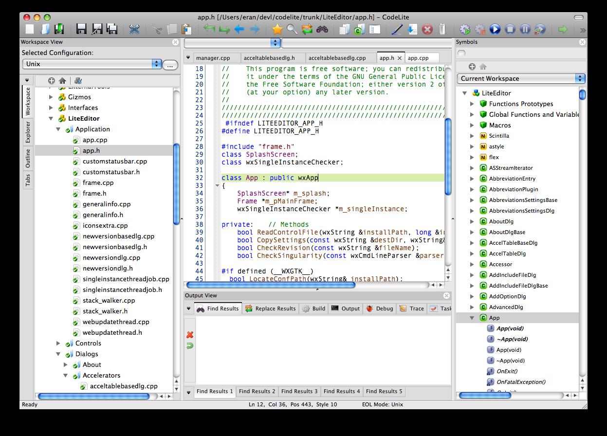 CodeLite - Free Download - Zwodnik
