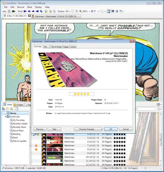 ComicRack for Windows - Free Download - Zwodnik