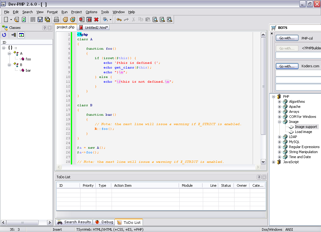 Phpstorm: the lightning-smart ide for php programming by jetbrains.