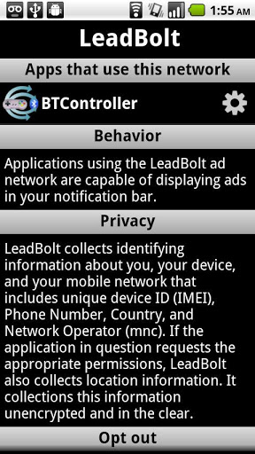 Ad-Network Scanner & Detector for Android - Free Download - Zwodnik