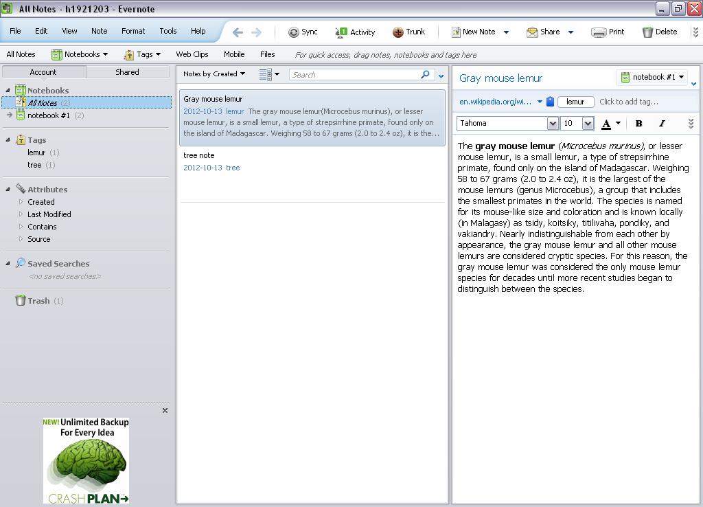 Evernote for Windows - Free Download - Zwodnik