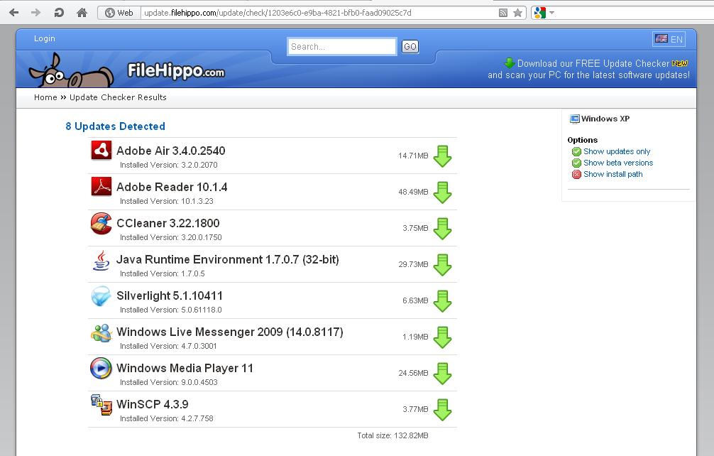 Filehippo update checker for windows free download zwodnik filehippo update checker stopboris Choice Image