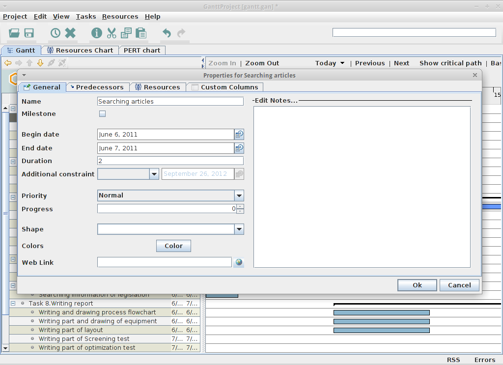 ganttproject for linux free download zwodnik