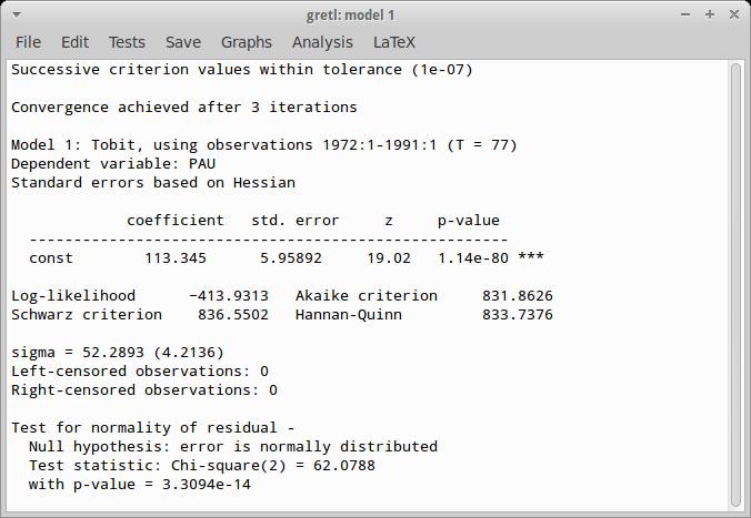 Gretl software, free download For Mac