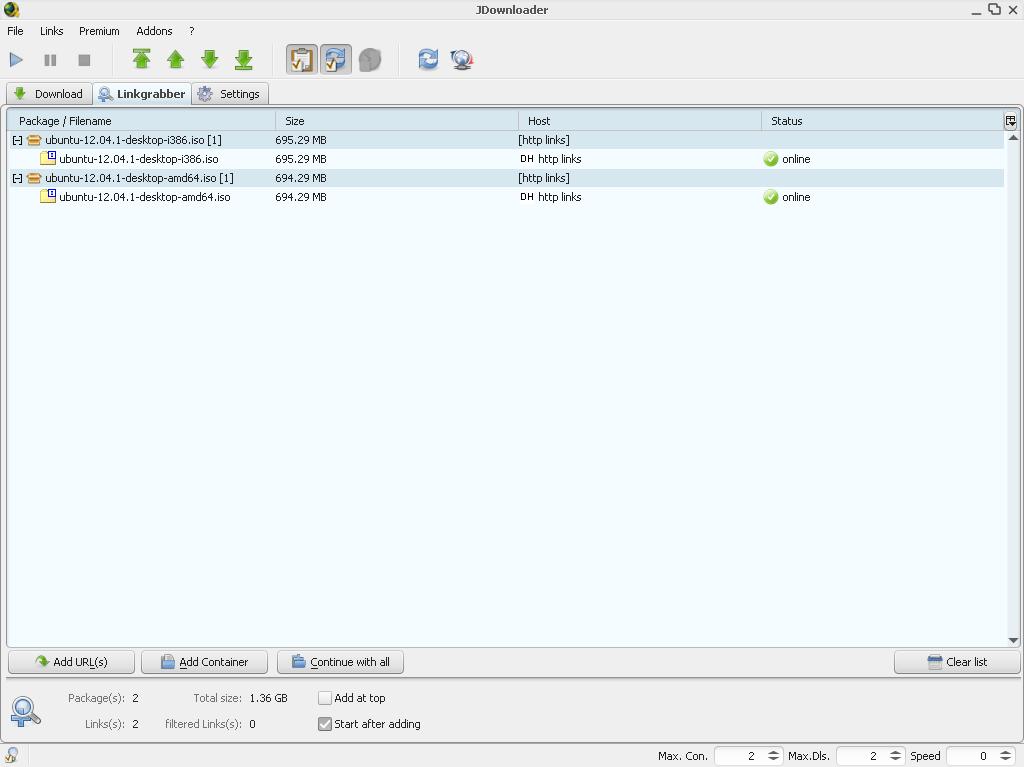 JDownloader for Windows - Free Download - Zwodnik