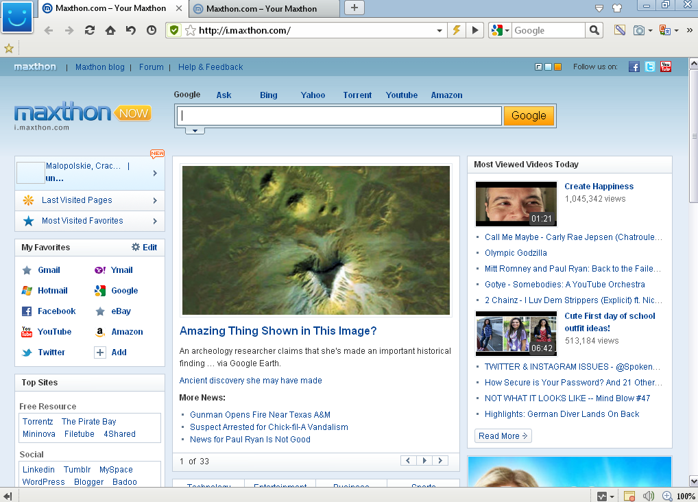 maxthon cloud browser free download for windows 8
