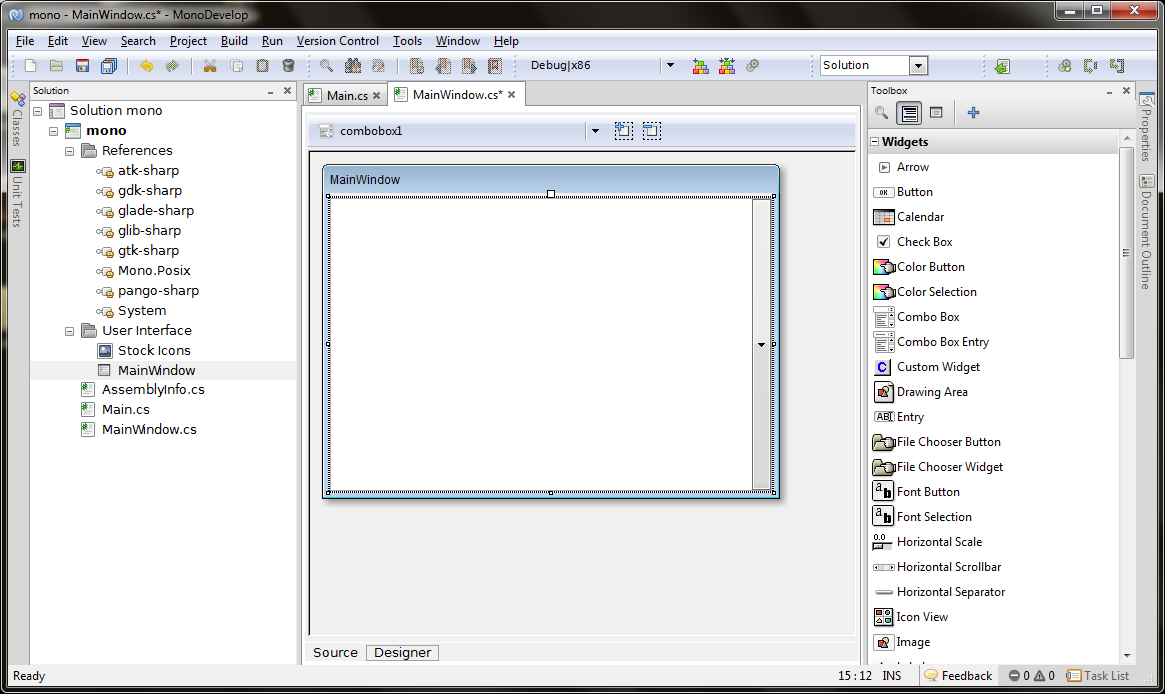 MonoDevelop for Windows - Free...