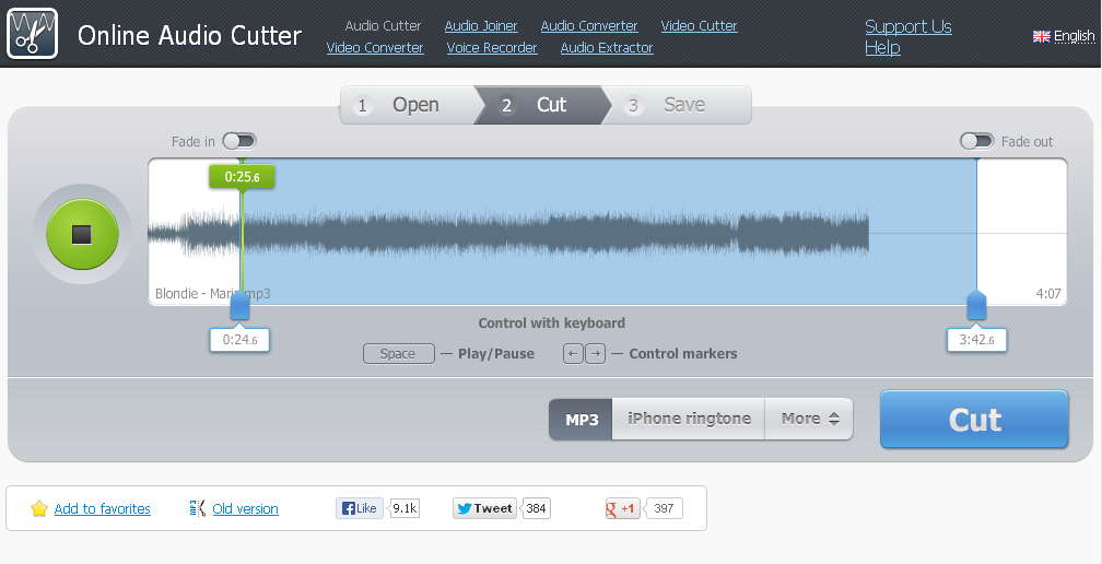 Mp3 song cutter online