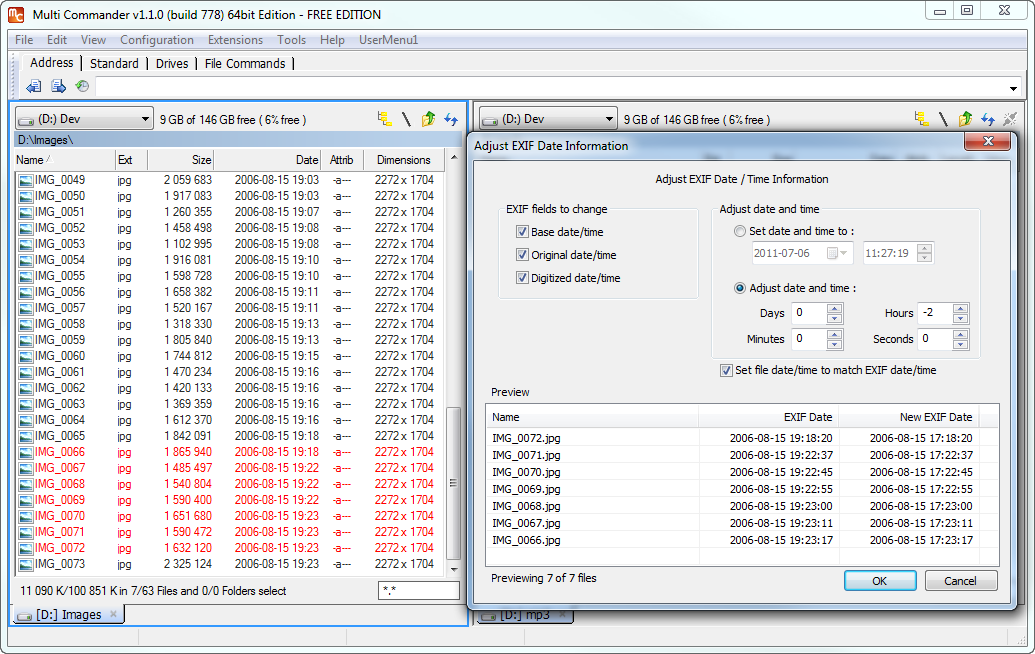 Multi Commander for Windows - Free Download - Zwodnik Multi Commander screenshot