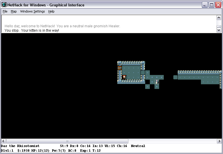 NetHack for Windows - Free Download - Zwodnik