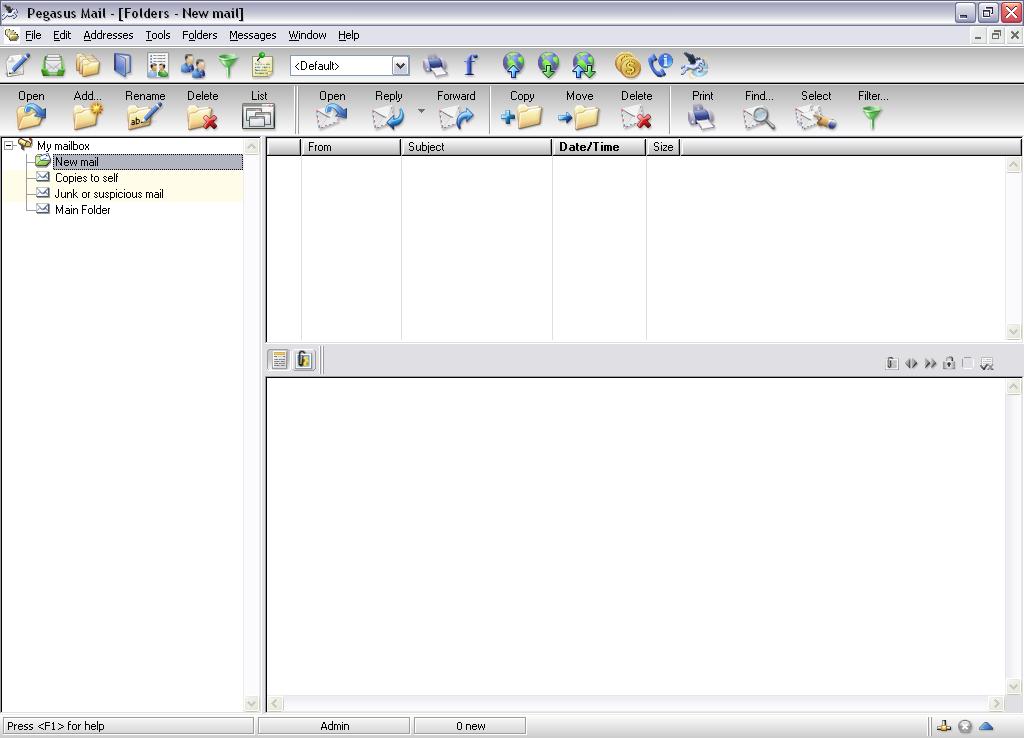 Pegasus Mail for Windows - Free Download - Zwodnik