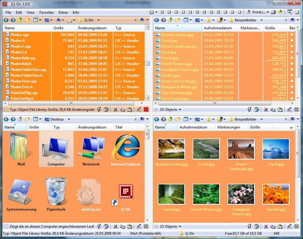 Q-Dir for Windows - Free Download - Zwodnik