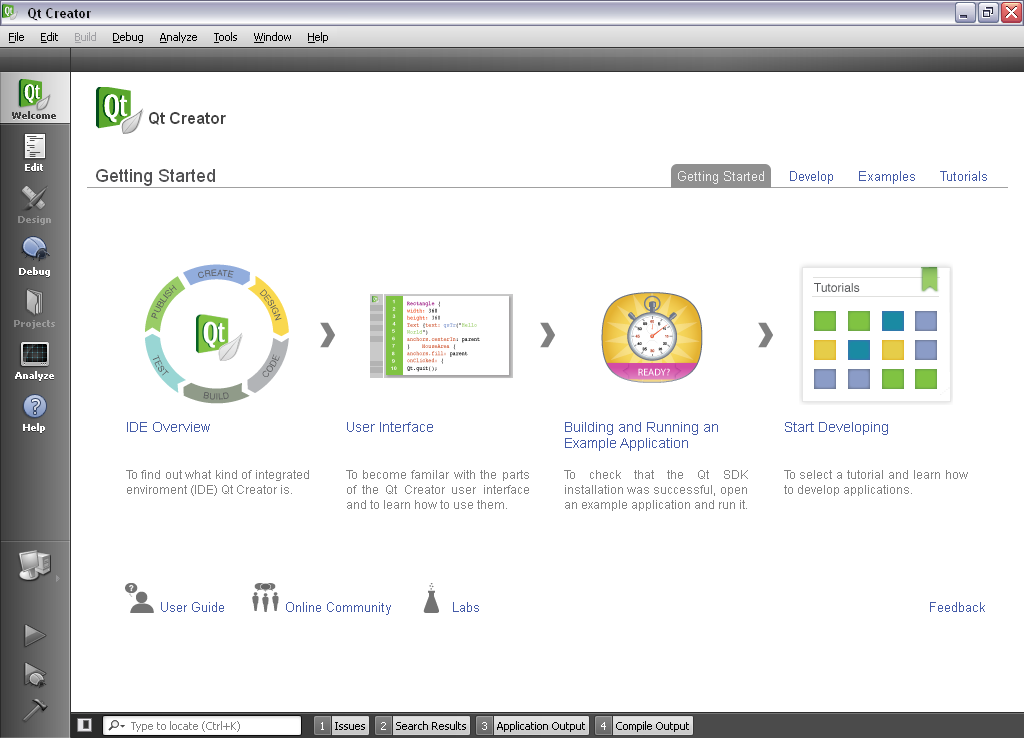 Qt Creator for Windows - Free Download - Zwodnik Qt Creator screenshot