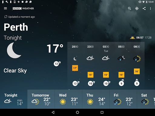 BBC Weather for Android - Free Download - Zwodnik
