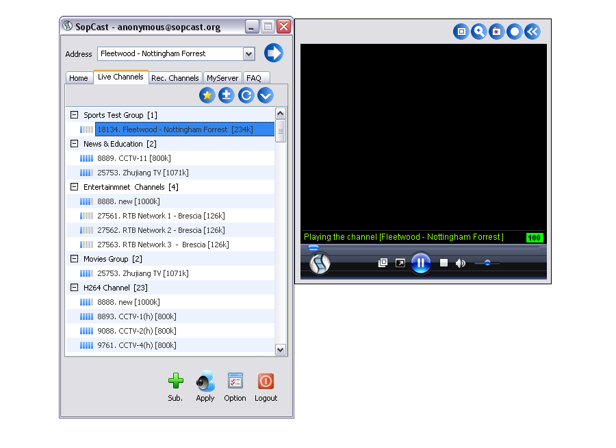 Download sopcast 4. 2. 0 filehippo. Com.