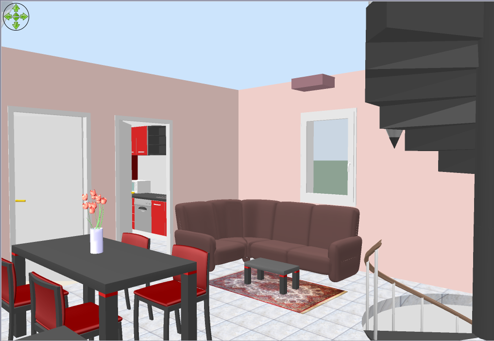 Sweet Home 3D screenshot. Sweet Home 3D for Windows   Free Download   Zwodnik