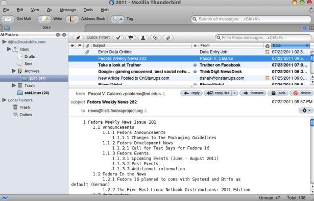 Mozilla Thunderbird - Free Download - Zwodnik