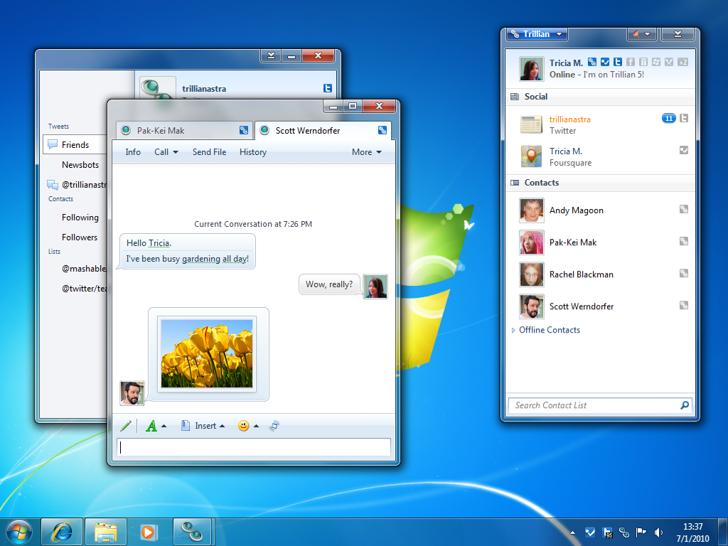 Trillian for windows free download zwodnik.
