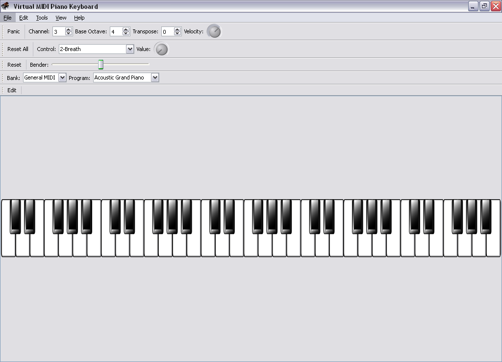 Virtual keyboard piano download   Download Virtual MIDI Piano