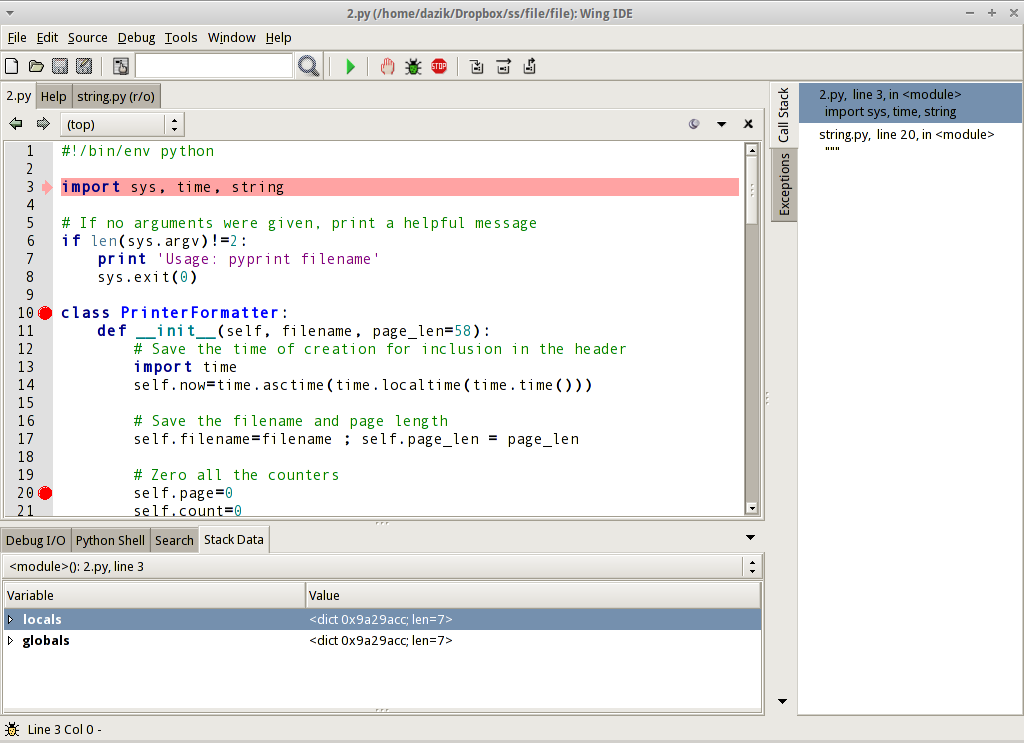 Wing IDE for Linux - Free Download - Zwodnik