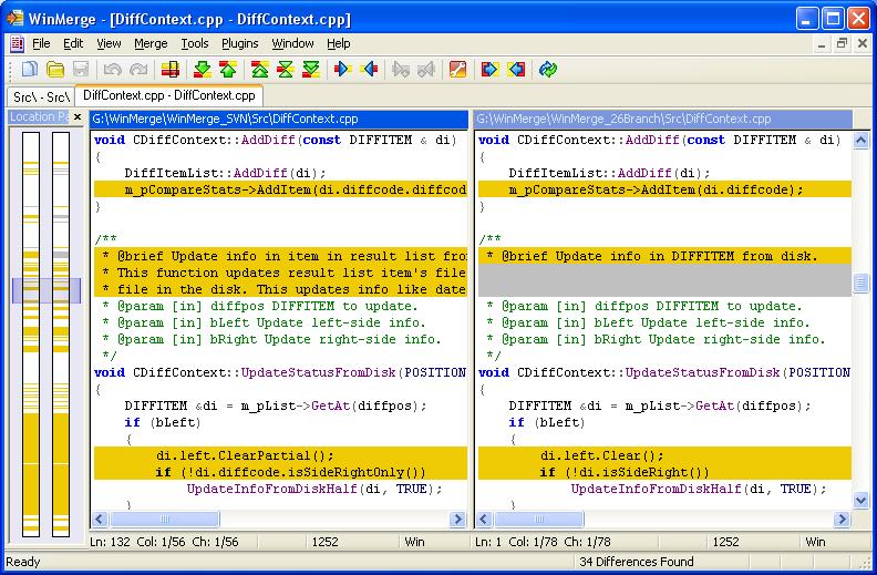 WinMerge for Windows - Free Download - Zwodnik