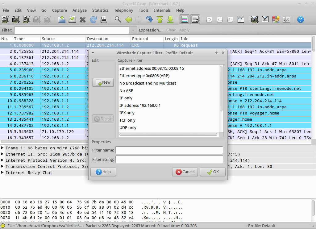 Wireshark for Linux - Free Download - Zwodnik