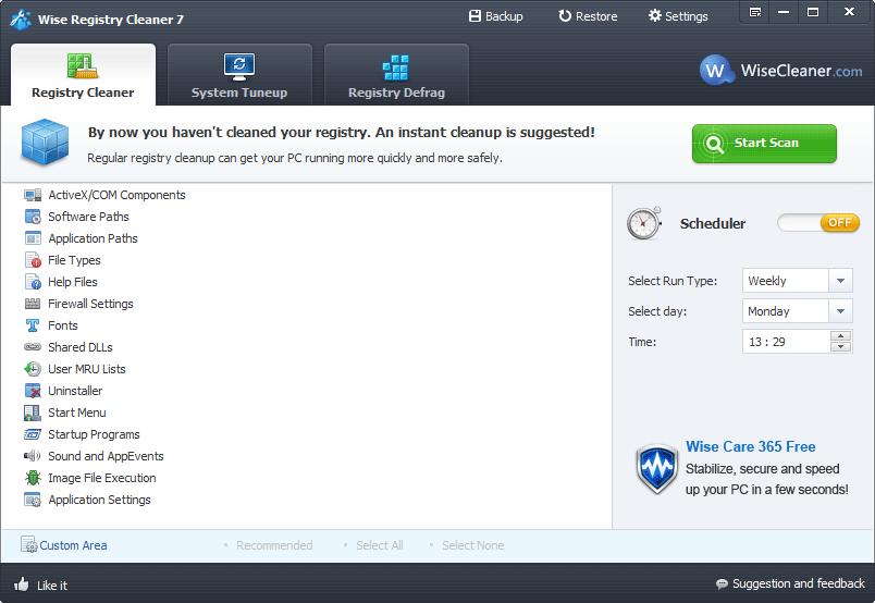 Best Registry Cleaner 2020 Wise Registry Cleaner for Windows   Free Download   Zwodnik