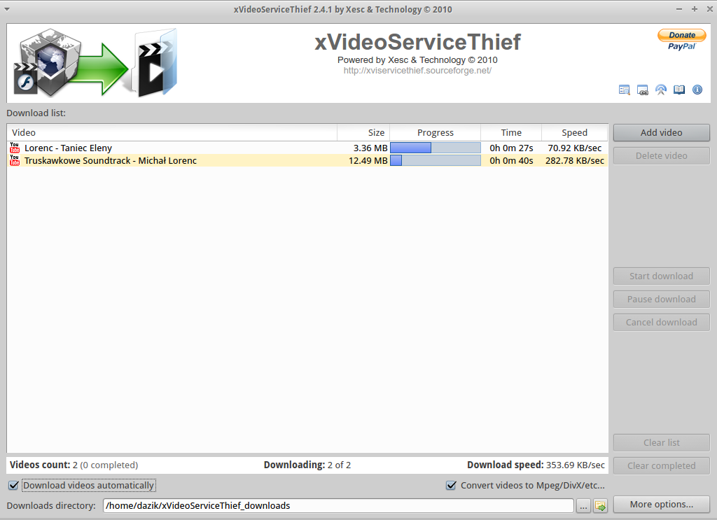 x videoservicethief download linux 🆓 i