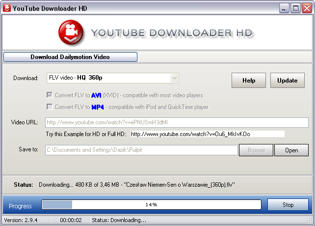 Youtube downloader hd for windows free download zwodnik youtube downloader hd screenshot stopboris Choice Image